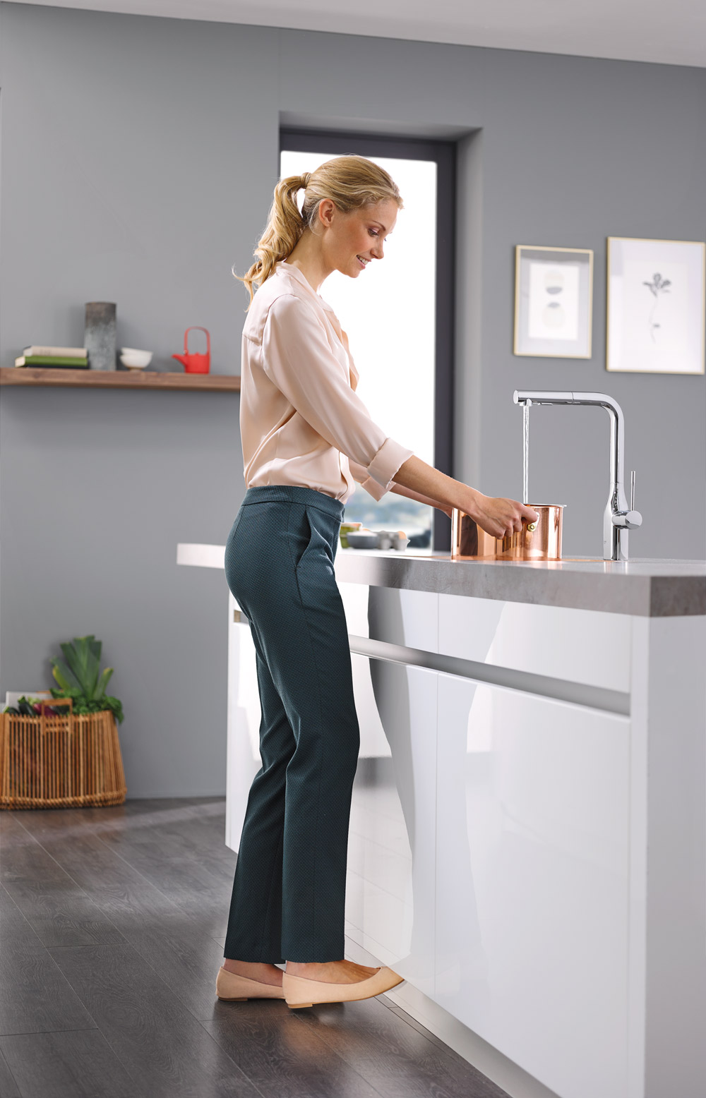 Grohe Essence Footcontrol