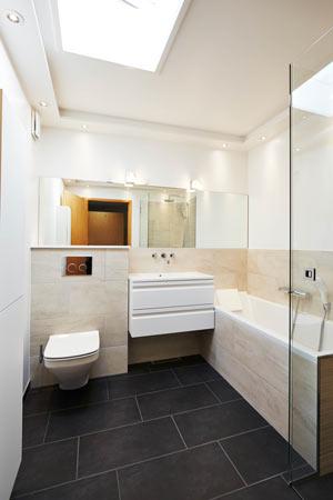 loftsbelysning badeværelse