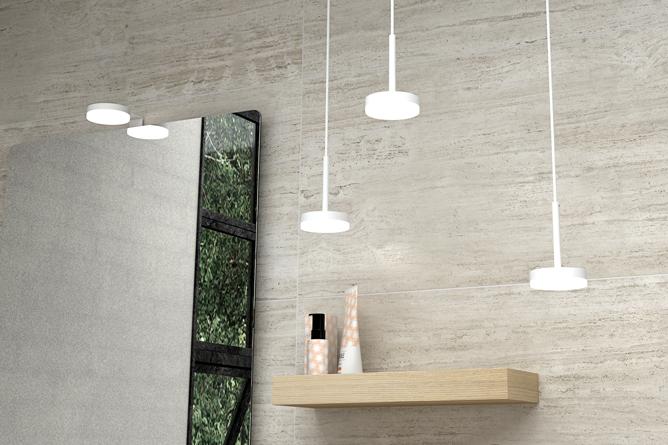 Oprindeligt Badeværelsesbelysning og badeværelseslamper | Bedre Bad - Bedre Energi HW71