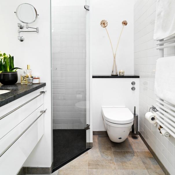 Kompakt bad med luksus og plads til meget