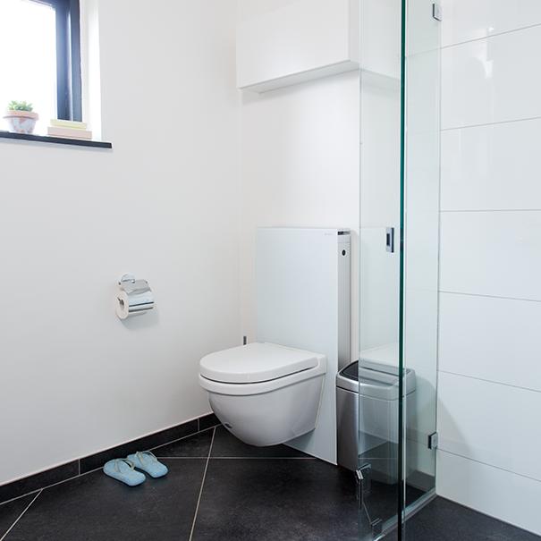 Med den rette indretning udnyttes m2 effektivt i dette bad