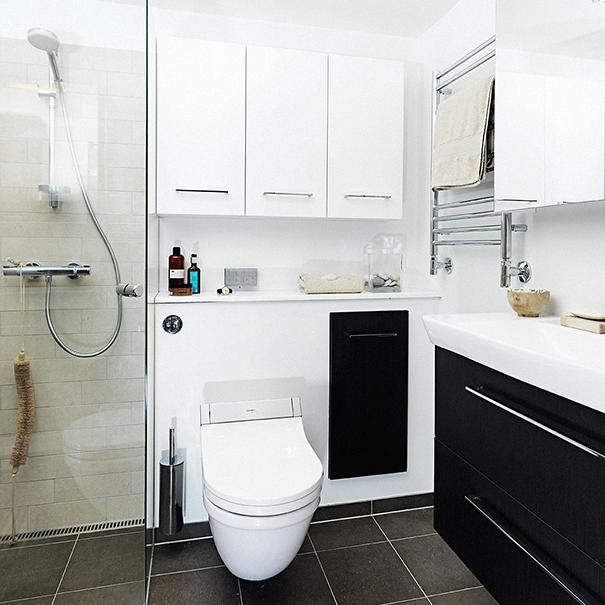10 gode råd til indretning af det lille badeværelse