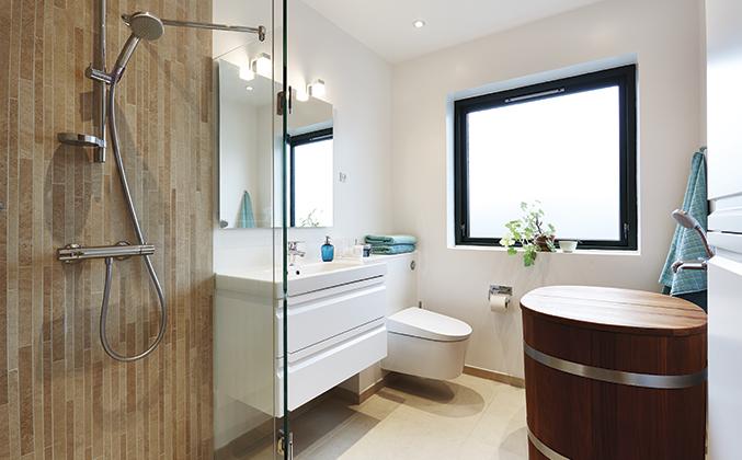 Nyt badeværelse inspiration – Vand i et almindeligt hus